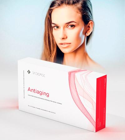 Pack de tratamiento para el rejuvenecimiento facial